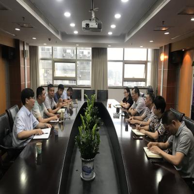 扬州龙川控股水务建设有限公司赴无锡水表考察